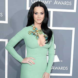 Grammys 2013 Red-Carpet Green Dress Trend