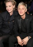 Portia de Rossi and Ellen DeGeneres made a cute couple at the Grammys.