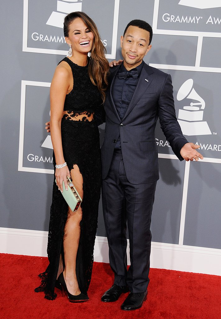 Chrissy Teigen and John Legend, 2013