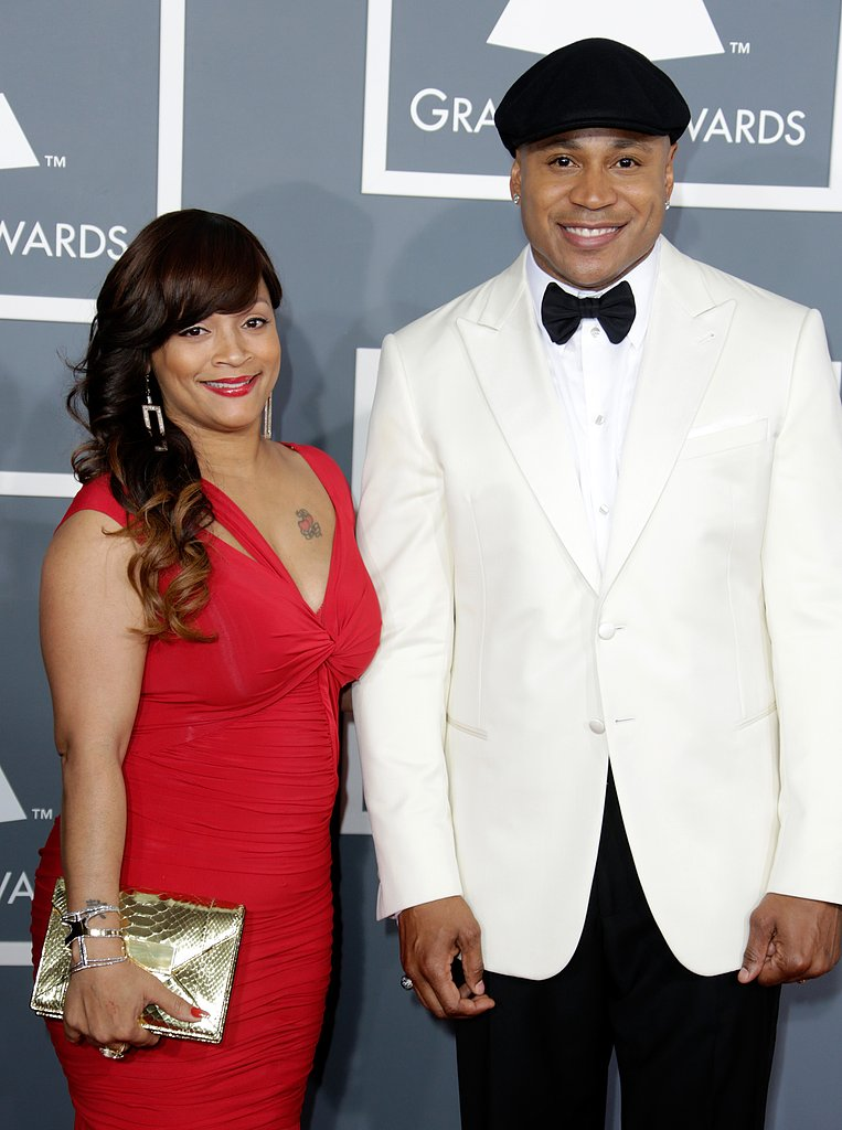 LL Cool J and Simone Johnson