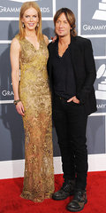 Nicole Kidman and Keith Urban(2013 Grammy Awards)