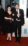 Helena Bonham Carter and Tim Burton(2013 BAFTA)