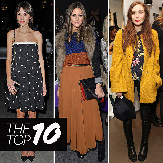Top Ten Best Dressed of the Week: Alexa, Olivia, Elizabeth & more!