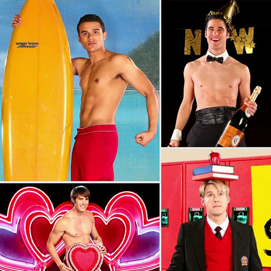 Here's Glee's Shirtless Men of McKinley Calendar