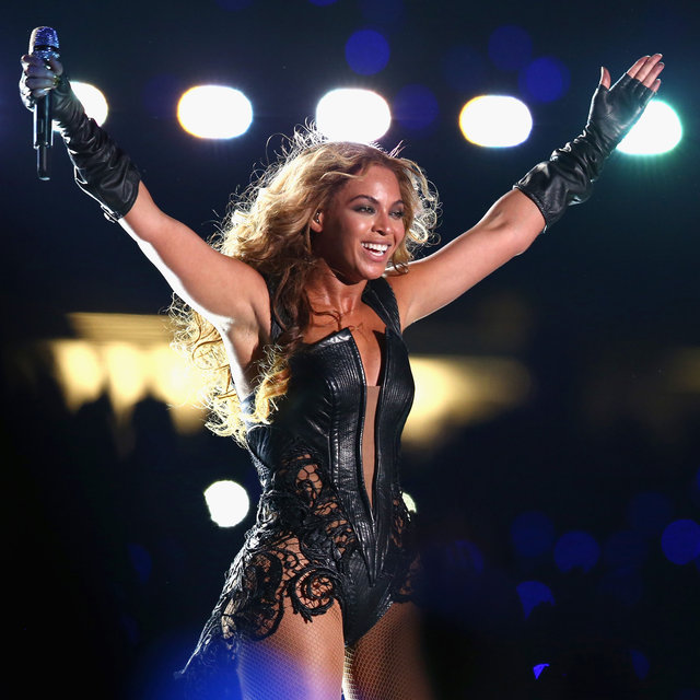 Beyonce Knowles Super Bowl Halftime Show in New Orleans