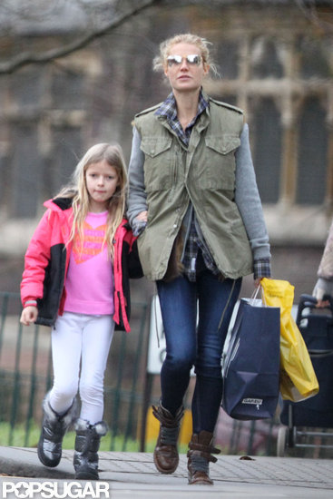 Gwyneth Shops With Apple as Iron Man 3 Debuts During the Super Bowl