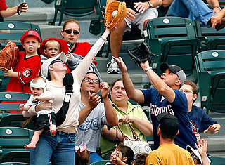 Supermom Foul Ball Photo Goes Viral