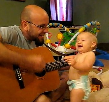 8-Month-Old Rocking Out Is Too Cool for Words (VIDEO)