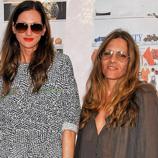Jenna Lyons and Courtney Crangi