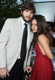 Ashton Kutcher and Mila Kunis attended the seventh annual Chrysalis Butterfly Ball in May 2008 in LA.