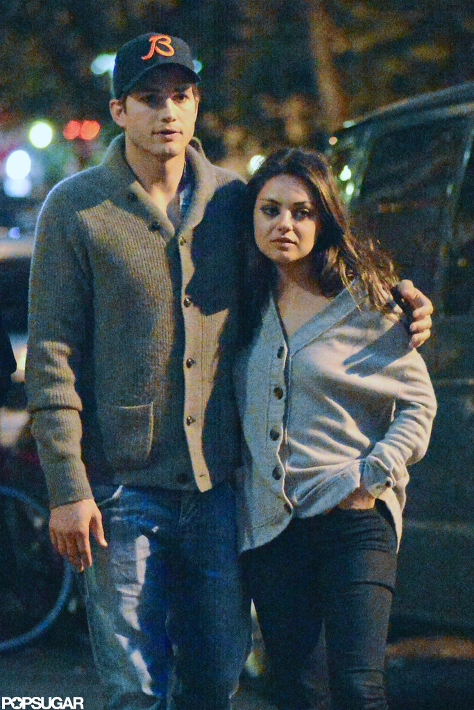 The duo went out for dinner in NYC in October 2012.