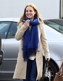 Natalie Portman and Benjamin Millepied Grab Lunch and Plan For Paris