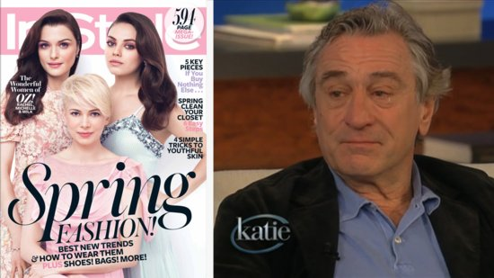 Video: Why Did Robert De Niro Cry on Katie? Michelle Williams Talks Jason Segel Romance, and More Headlines!