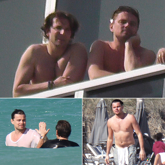 Leo and Bradley Have a Shirtless Guys' Weekend With Jonah and Lukas