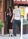 Mila Kunis and Ashton Kutcher held hands in LA in October 2012.
