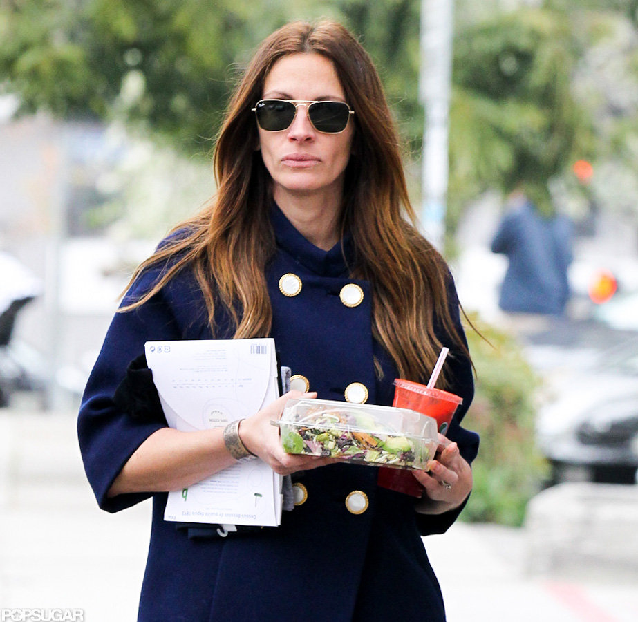 Julia Roberts Gets Back to Malibu Following a Big-Screen Reunion