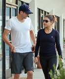 Ashton Kutcher and Mila Kunis shared an LA gym date in October 2012.
