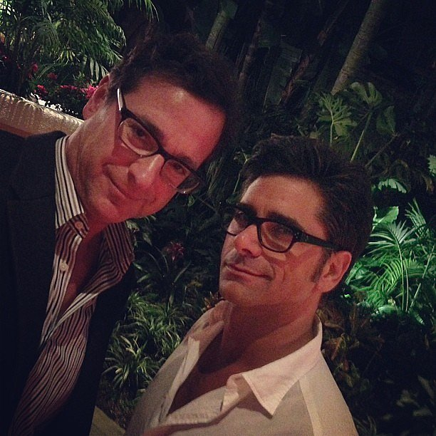Bob Saget and John Stamos hung out together. Source: Twitter user JohnStamos