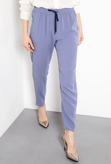 The slouchy fit of Vanessa Bruno's Drawstring Easy Trousers ($433) makes them a weekend-chic staple.