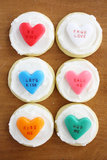 Airhead Conversation Heart Cupcake Toppers