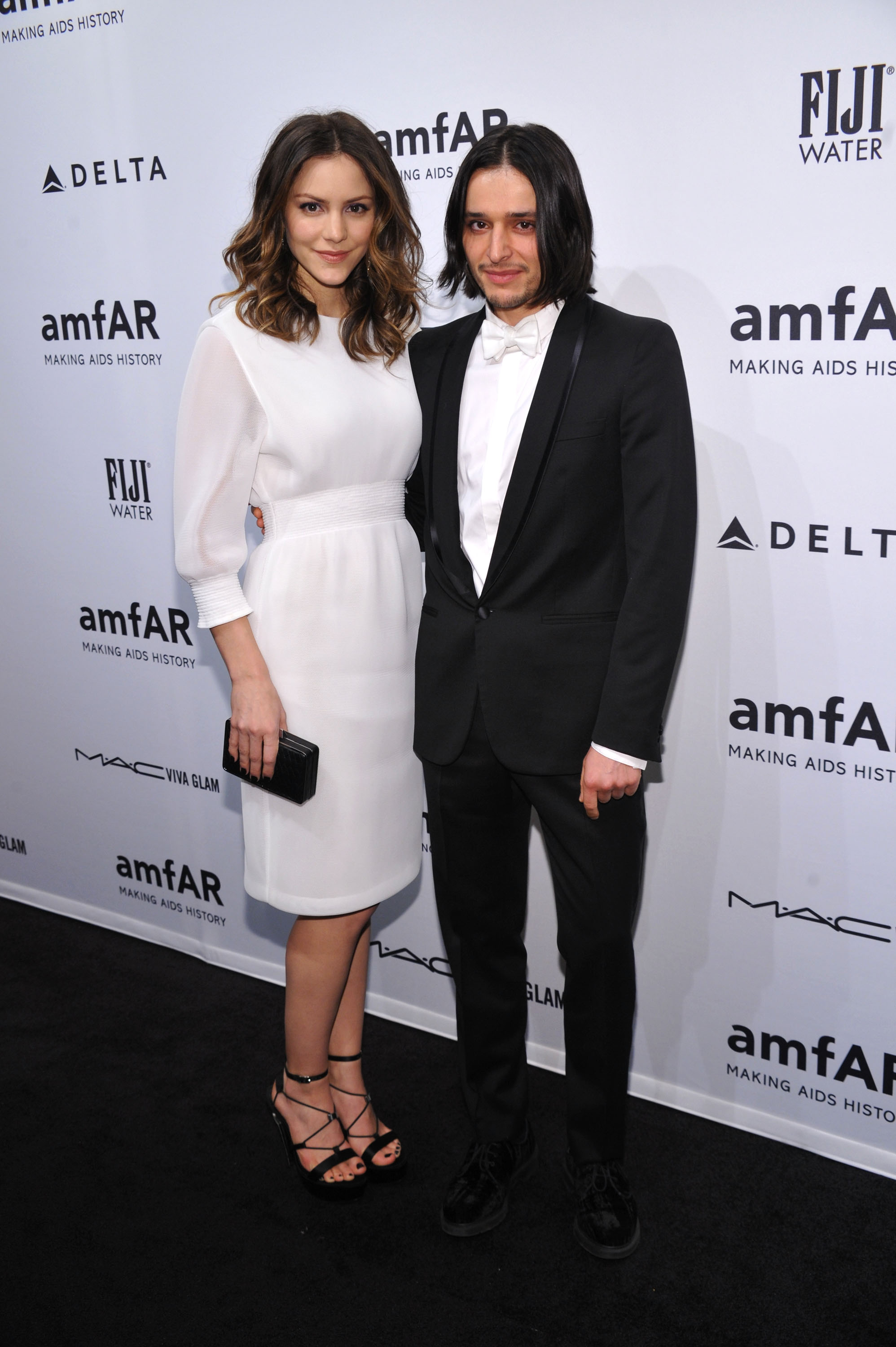 Katharine McPhee and Olivier Theyskens