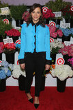 Rashida Jones paired her frilled shirt with black pants for the Prabal Gurung For Target launch in NYC in February.