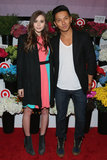 Elizabeth Olsen posed with designer Prabal Gurung at the launch of his collaboration with Target in NYC in February.