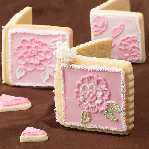 Wedding 3D Sugar Cookie Card