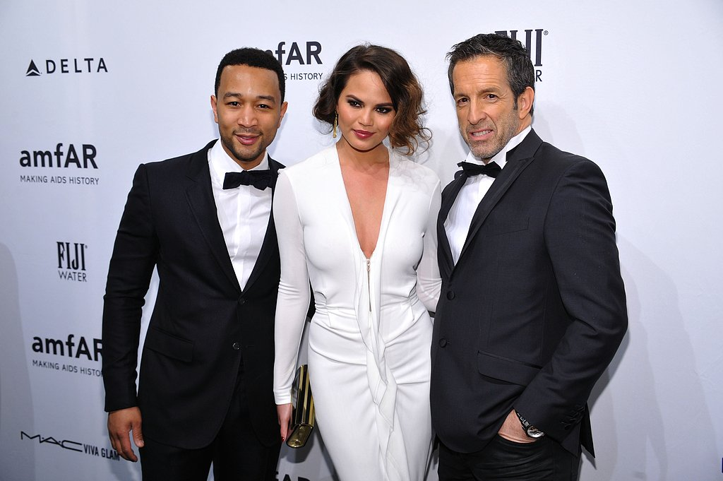 John Legend, Chrissy Teigen and Kenneth Cole