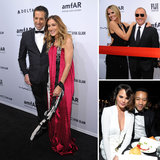 SJP, Heidi and Lindsay Join Fashionable Faces For the amfAR New York Gala