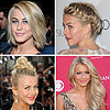 Celebrity Hair &amp; Beauty: Julianne Hough&#039;s Braid &amp; Hairstyles