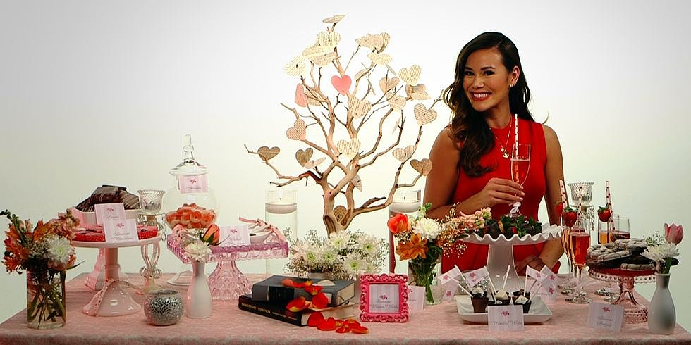 Create a Romantic Dessert Table This Valentine's Day!