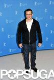 Matt Damon attended a photocall at the Berlin Film Festival.