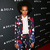 Solange Knowles Wearing Printed Suits | Style Pictures
