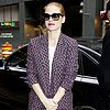 Jessica Chastain Winter Coats 2013