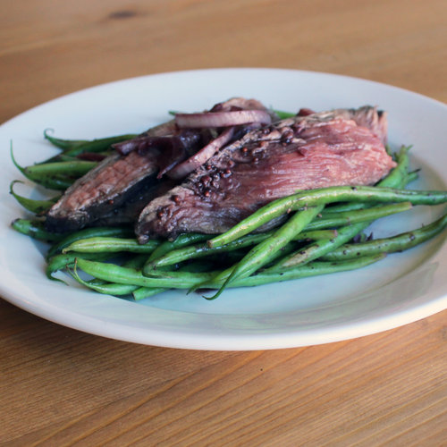 Healthy Flank Steak Dinner