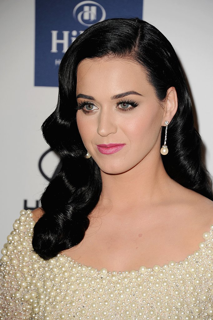 Katy Perry at Clive Davis's Party