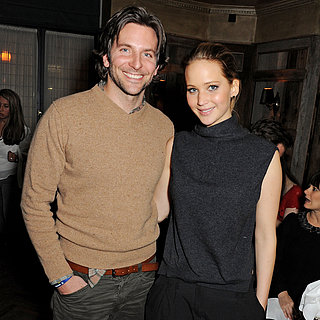Bradley Cooper and Jennifer Lawrence at London Dinner