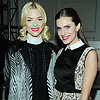 Jaime King, Allison Williams, Ashlee Simpson NY Fashion Week