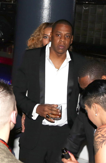 Beyoncé Supports Jay-Z on Her Big Premiere Night