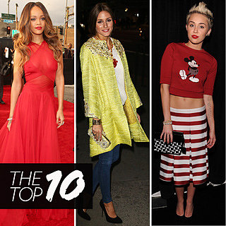 Top Ten Best Dressed Celebrities: Olivia Palermo, Rihanna