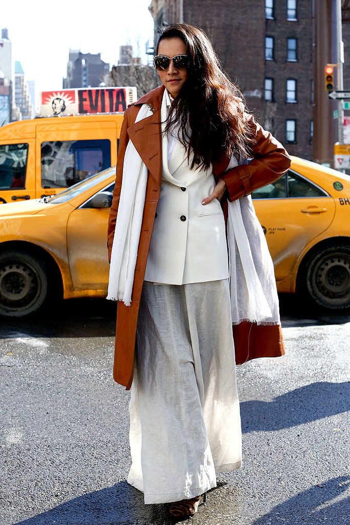 Goodbye New York! A Look Back at All the Chic Street Style Looks