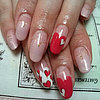 Valentine&#039;s Day Nail Art