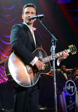 Justin Timberlake performed at a post-Grammy Awards bash at the Hollywood Palladium.