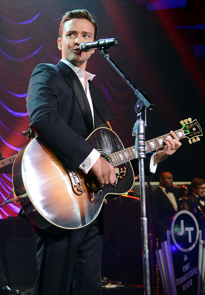 Justin Timberlake performed at a post-Grammy Awards shindig at the Hollywood Palladium.