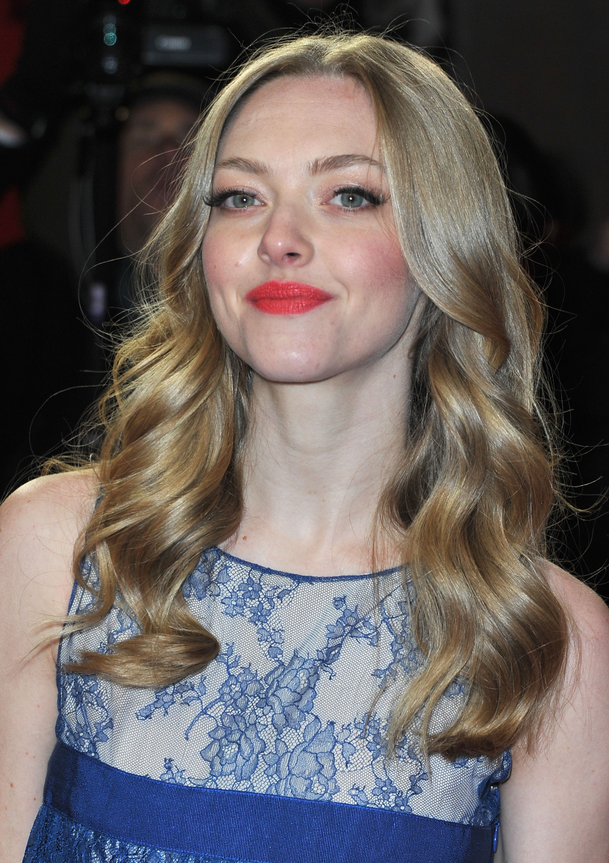 Amanda Seyfried posed on the red carpet at the premiere of Lovelace on Saturday.