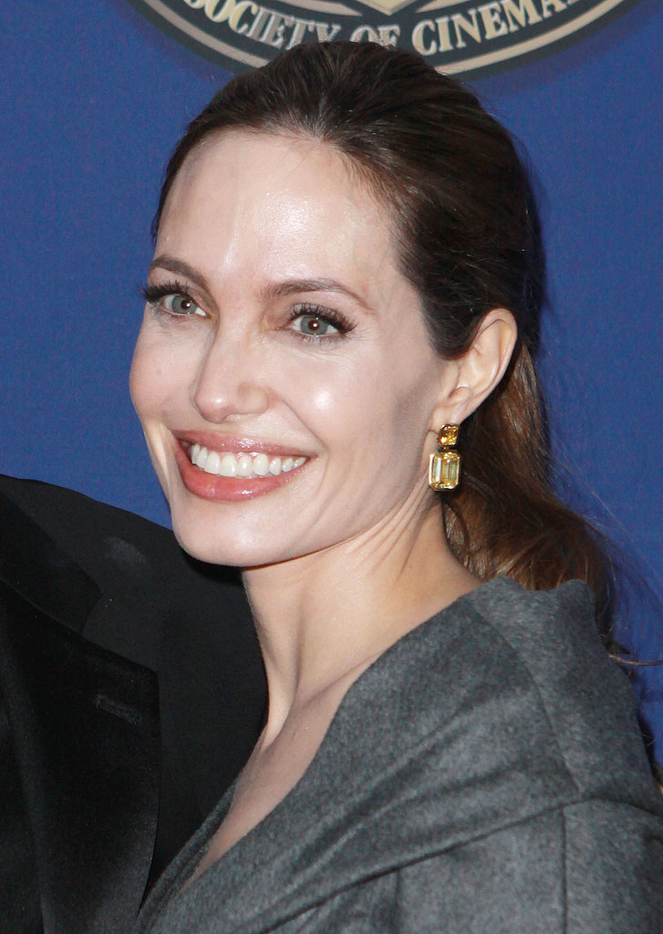 Angelina Jolie Gets in on the Award Season Action