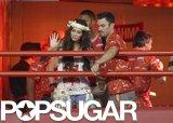 Megan Fox and Brian Austin Green Sneak a Carnival Kiss in Brazil