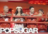 Megan Fox and Brian Austin Green Sneak a Carnival Kiss in Brazil