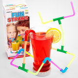 Who knew kids could build their own drinking devices? This colorful set of straws and connectors ($7) lets them have fun doing just that.